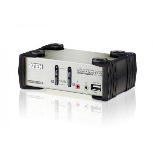 Aten CS1732B MasterView KVMP Switch - KVM / audio / USB switch - USB - 2 x KVM / audio / USB - 1 local user - desktop