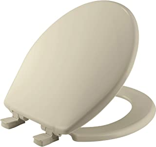 product image for BEMIS 730SLEC 006 Toilet Seat will Slow Close and Removes Easy for Cleaning, ROUND, Plastic, Bone