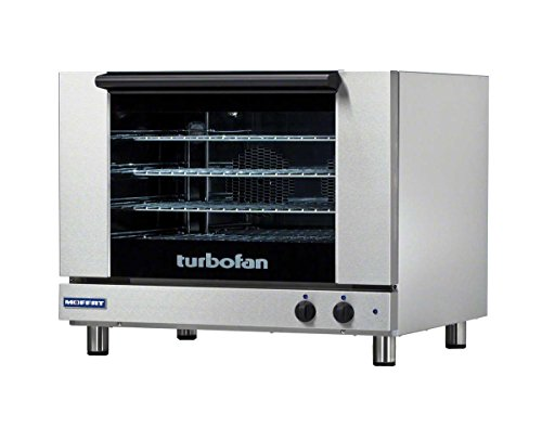 """Moffat E28M4 - 32"""" Turbofan Electric Convection Oven - 4 Full Size Pan Capacity"""