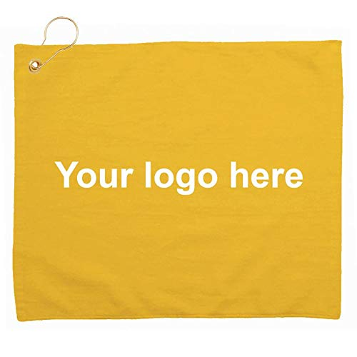 Caden Concepts Platinum Collection Golf Towel Tri-Fold Grommet - 48 Quantity - $5.88 Each - Promotional Product/Bulk/with Your Customized Branding