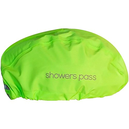 Your fancy hyper-ventilated helmet is great in warm weather, but all those holes can pose a problem when the rain is coming down. Cover up with the Showers Pass Helmet Cover, whose waterproof breathable fabric and taped seams keep the wet stu...