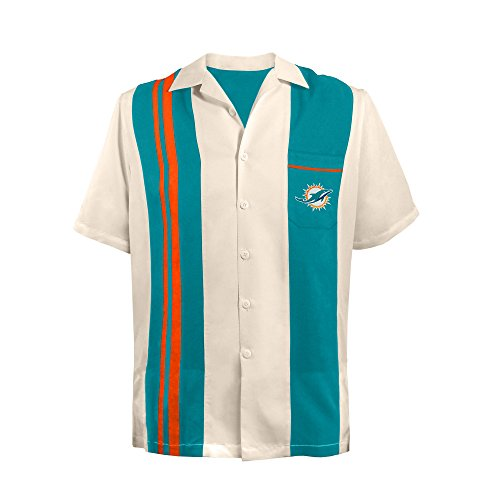nisex NFL Bowling Shirt Spare, Medium, Orange ()