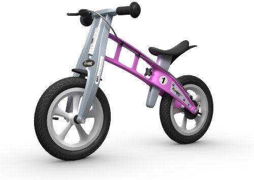 FirstBIKE Street Bike with Brake, Pink
