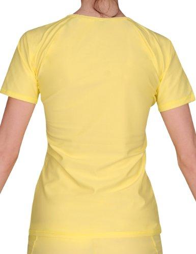 iQ-Company Damen UV-Schutz T-Shirt IQ 300 Watersport, gelb, XS, 668122_2228