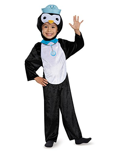 Peso Penguin Classic Octonauts Silvergate Media Costume, Small/2T -