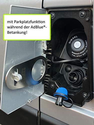 Styyl Edelstahl Sicherung Passend Für Den Adblue Verschluss An Kastenwagen Ducato Jumper Boxer Adblue Tank Deckel Auto