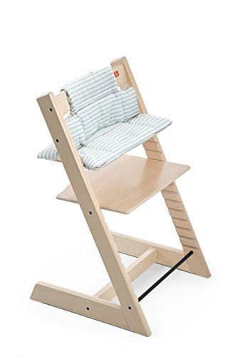 Stokke Tripp Trapp Cushion, Aqua Stripes