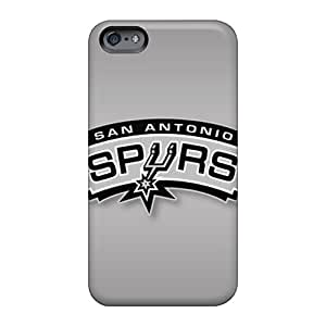 Apple Iphone 6 Plus DMF28291OctW Unique Design HD San Antonio Spurs Pattern Shock Absorbent Hard Cell-phone Cases -RobAmarook