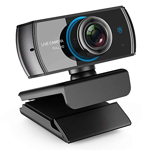 LOGITUBO C920 Webcam for Xbox Streaming HD 1080P Web Cam With Mic 3.0M Camera Support Skype Facebook Youtube Compatible Mac Win PC Laptop Android TV (Smart Tv With Camera)