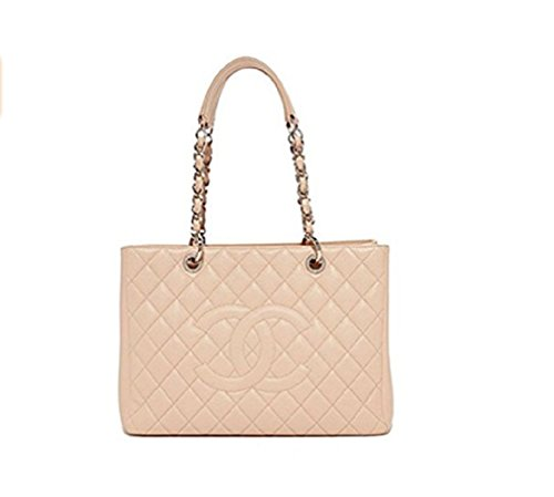 Simple-Chanel Women's Sakura Powder leather Chain Bag - Chanel Real Leather