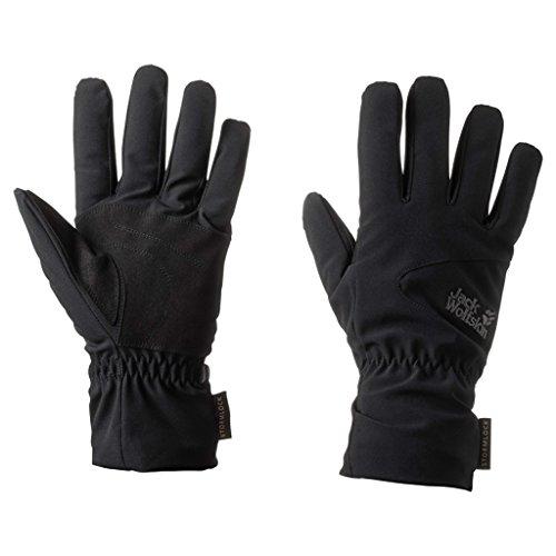 Jack Wolfskin Storm Lock High Loft Gloves, X-Large, Black