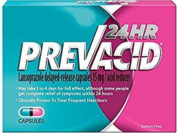 Prevacid 24HR Caps 42-Count (pack of 2) by Prevacid