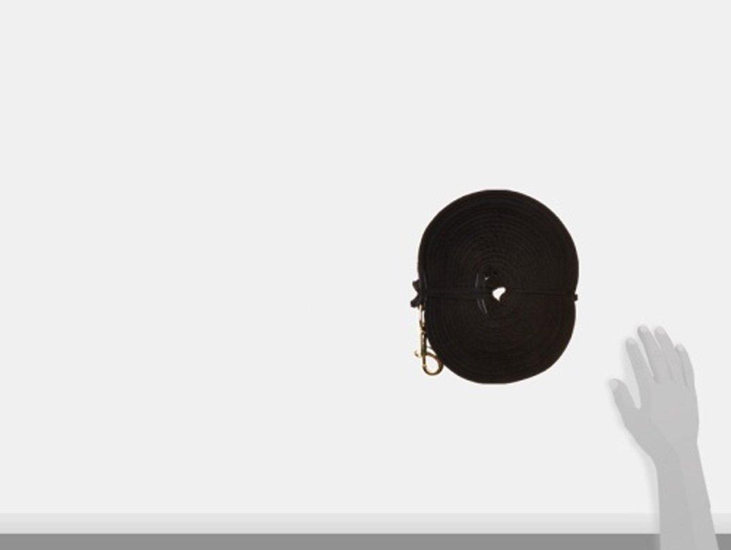 Soft Longe schwarz Longierleine 800 cm PFIFF 004001 Softlonge mit Handschlaufe