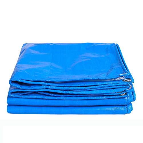 判読できないペチュランス水っぽいJIANFEI オーニング 防水耐寒性日焼け止め防風屋外耐摩耗性基布厚さ0.4mmカスタマイズ可能 (色 : Blue, サイズ さいず : 8x10m)