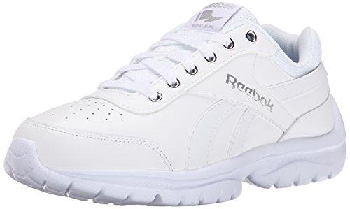 Reebok Königlichen Lumina Pace Klassische Schuh White/Silver Metallic