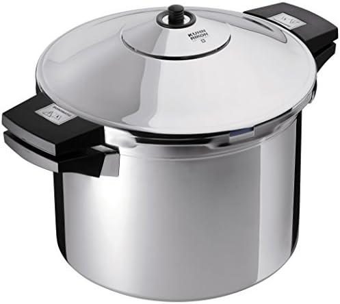 Kuhn Rikon 3044 pressure cooker, 8.5-Qt, Silver