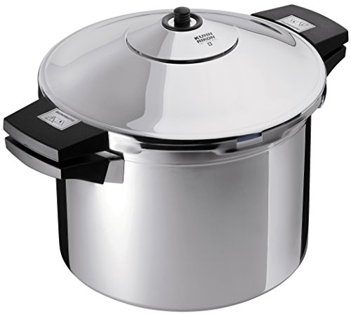 Kuhn Rikon Duromatic Stainless-Steel Stockpot Pressure Cooker - 6.3-Qt