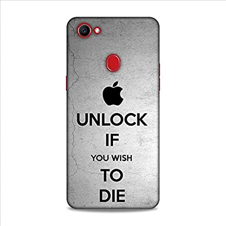 Unlock If You Wish to Die Case Cover for Oppo F7: Buy Unlock If You