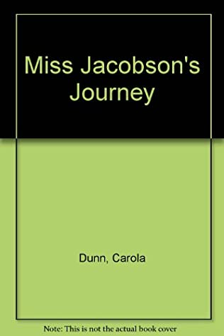 book cover of Miss Jacobson\'s Journey