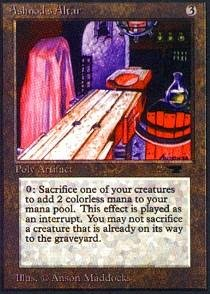 Magic The Gathering Antiquities - Magic: the Gathering - Ashnod's Altar - Antiquities
