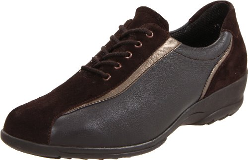 ara Women's Maran Oxford,Brown Suede/Leather,8.5 W US
