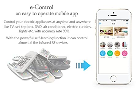 Buy wifi remote control home automation use mobile to control your buy wifi remote control home automation use mobile to control your tv av system ac online at low prices in india amazon fandeluxe Choice Image