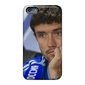 Durable Hard Phone Case For Apple Iphone 6s Plus (bHj1530GtwM) Allow Personal Design Colorful Dynamo Midfielder Yuri Zhirkov At The Press Conference Pattern