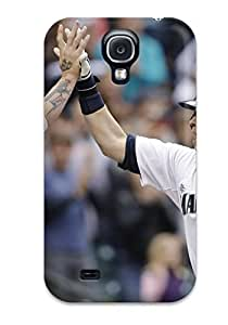 Tpu Fashionable Design Seattle Mariners Rugged Case Cover For Galaxy S4 New