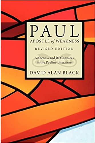 Apostle of Weakness