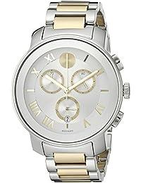 Womens 3600280 Analog Display Swiss Quartz Two Tone Watch