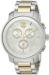 Movado 3600280 Reloj de Mujer Cuarzo analógica Swiss Dos Tonos Reloj: Amazon.es: Relojes