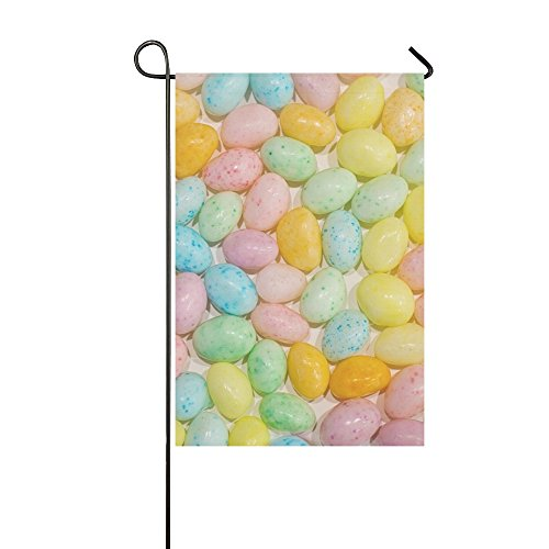 ENEVOTX Home Decorative Outdoor Double Sided Easter Jelly Be