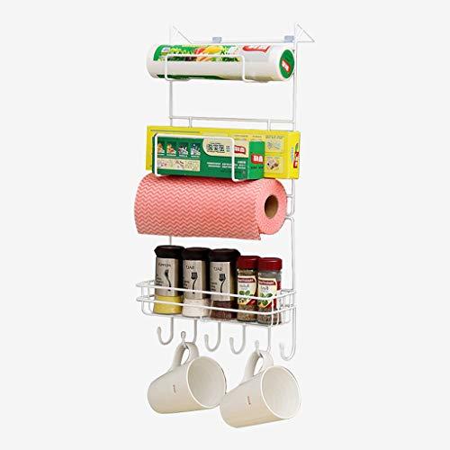 Rack para frigorífico Racks multifuncionales para el almacenamiento del hogar Racks para la cocina Botellas para condimentos...