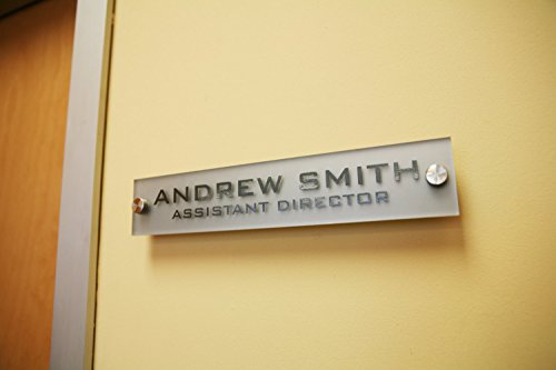 Nameplate For Office Wall The Best Wall - Office name plate template