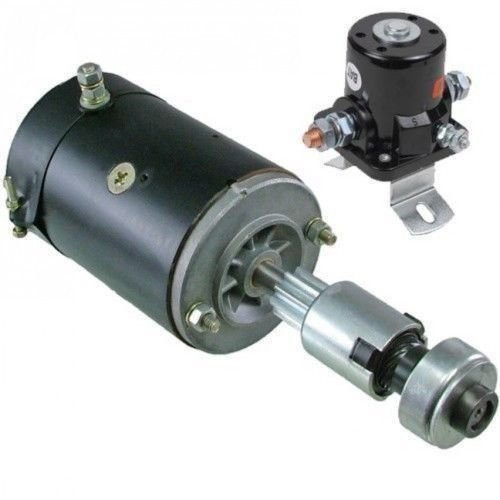 Brand New STARTER compatible with Ford Farm Tractor 2N 8N 9N 28-30HP 1939-1952 w/Drive Solenoid