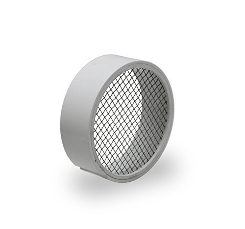 Raven TVS3SS PVC Termination Vent with Stainless Steel Screen, 3 by Raven ()