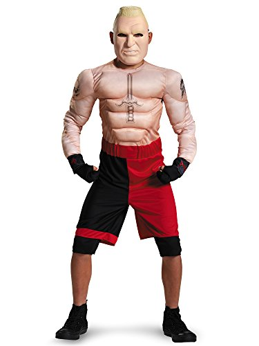 Brock Lesnar Classic Muscle WWE Costume, Large/10-12 ()