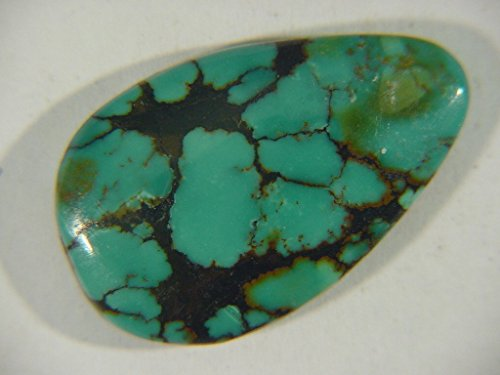 Genuine Natural Chinese Turquoise Lapidary Freeform Cabochon 9481C h