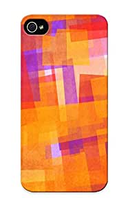 New Abstract Multicolor Textures Tpu Case Cover, Anti-scratch Kathewade Phone Case For Iphone 5/5s