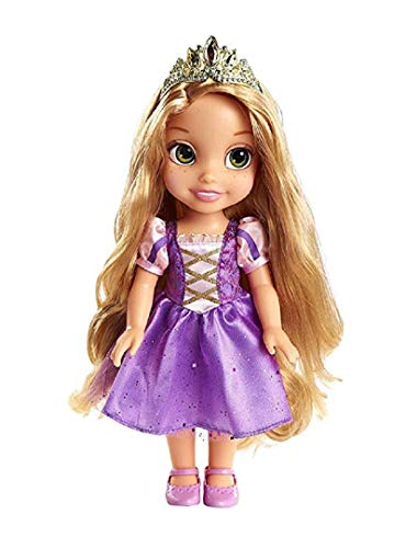 Jakks Pacific Keys to The Kingdom Rapunzel Toddler Doll with Royal Reflection Eyes That Shine and Shimmer