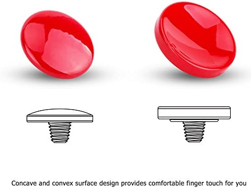 Botón disparador ergonómico metal rojo para Sony Cybershot DSC-RX10 II