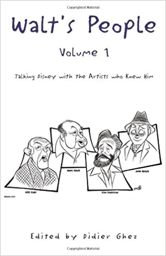 walts people volume 8 talking disney with the artists who knew him