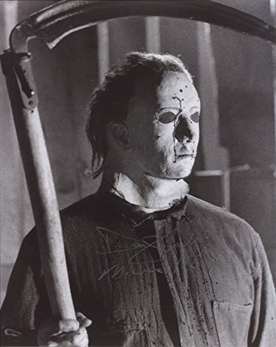 DON SHANKS as Michael Myers – Halloween 5 GENUINE AUTOGRAPH