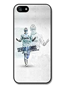 Sergio Ramos Victory Real Madrid CF Football case for iPhone 5 5S A170