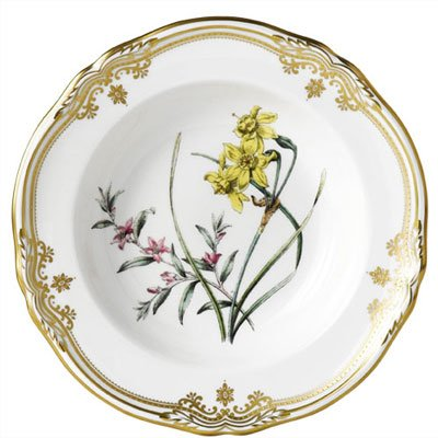 Spode Stafford Flowers 9.25'' Soup Plate