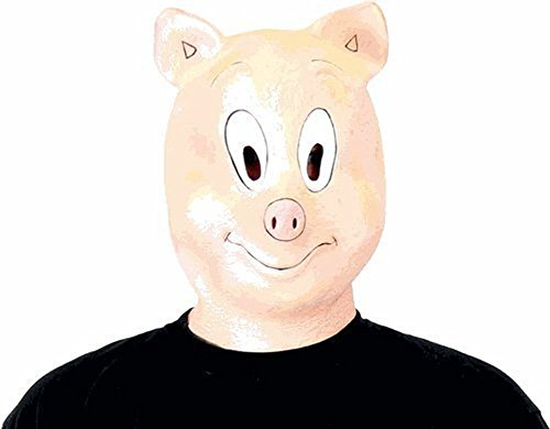 The Hangover Part III 3 Piggy Pig Mask (The Hangover Costume)
