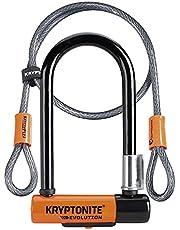 Kryptonite Evolution Mini 7 kabel Kryptoflex sluiting, zwart/oranje, één maat