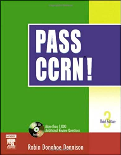 Pass ccrn 3rd edition 9780323025928 medicine health science pass ccrn 3rd edition 3rd edition fandeluxe Images