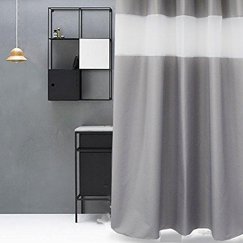 72 x 84 fabric shower curtain - 8