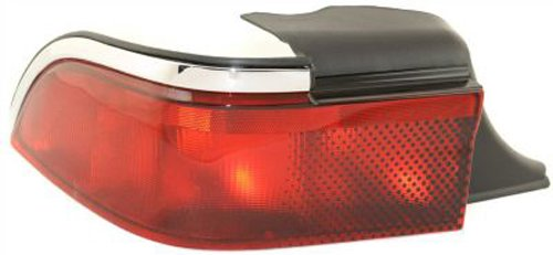 Mercury Grand Marquis Replacement Tail Light Unit - Driver Side (Drivers Marquis Grand Tail Side)